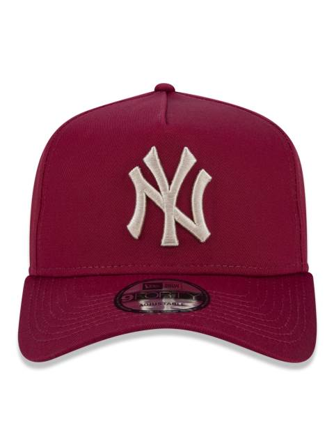 Boné Trucker Yankees Bordo – New Era