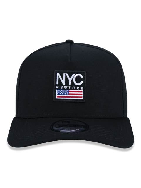 BONÉ NEW ERA TRUCKER NYC E.U.A PRETO