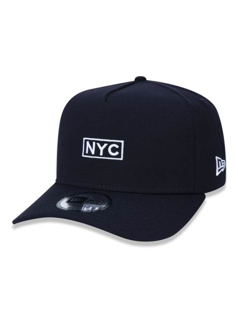BONÉ NEW ERA TRUCKER NYC PRETO