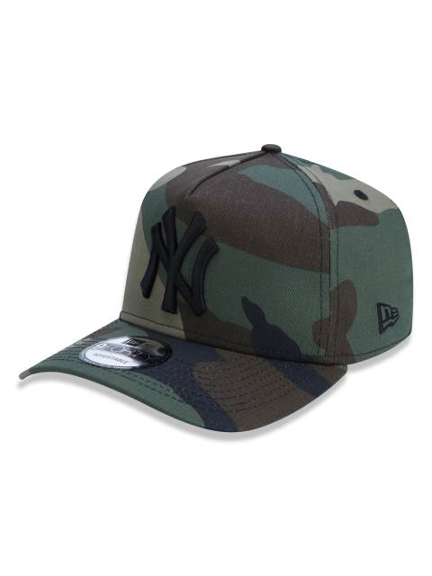 BONÉ NEW ERA TRUCKER YANKEES MILITAR