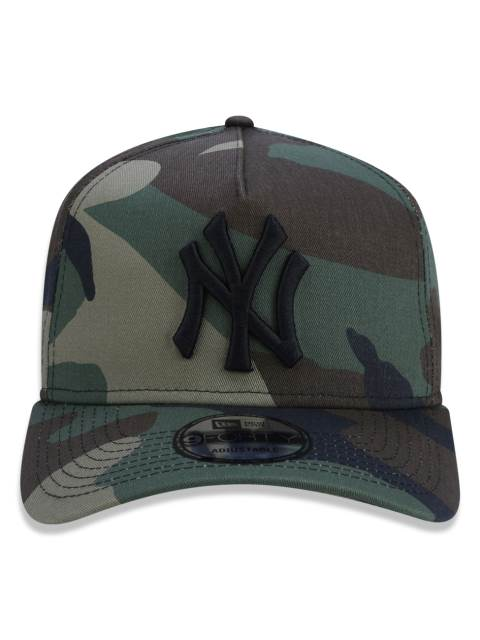 Boné Truker Yankees Militar – New Era