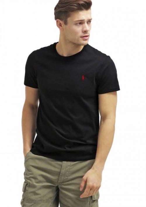 Camiseta básica Ralph lauren preta