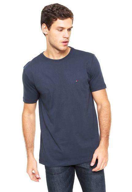 Camiseta Básica Azul Marinho – Tommy Hilfiger