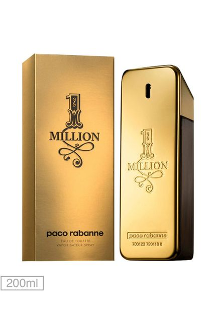 Perfume Masculino One Million – Paco Rabanne EDT 100ml
