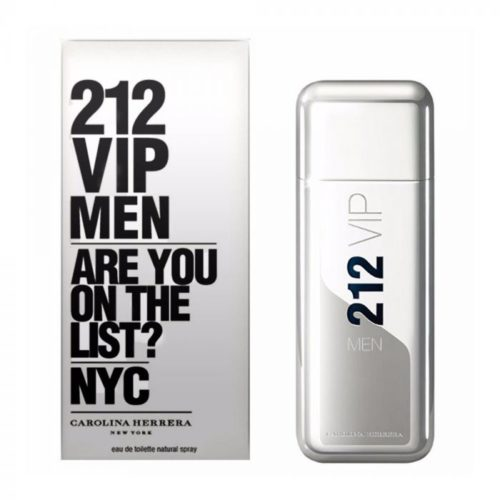 Perfume Masculino 212 Vip Men – EDT Carolina Herrera 100ml