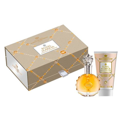 Kit Royal Marina Diamond Edp 100ml + Body Lotion 150ml Marina De Bourbon