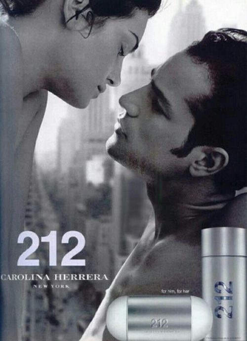 Perfume Masculino 212 Men – Carolina Herrera EDT 100ml