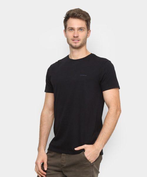 Camiseta Básica Preta – Calvin Klein