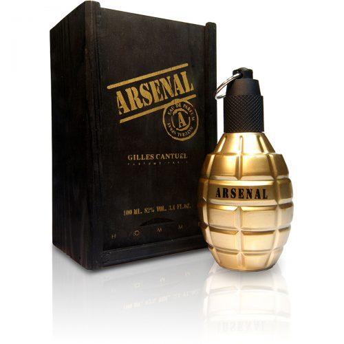 Perfume Masculino Arsenal Gold – Gilles Cantuel EDP 100ml