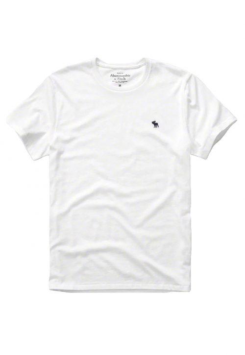 Camiseta Básica Branca – Abercrombie