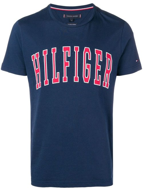 Camiseta Estampada – Tommy Hilfifer Azul Marinho