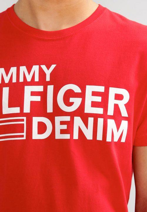Camiseta Estampada – Tommy Hilfiger Vermelho
