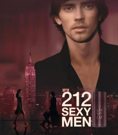 Perfume Masculino 212 Sexy Men – Carolina Herrera EDP 100ml