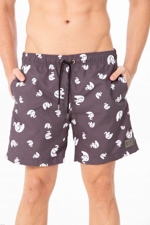 shorts de banho forinc elefante