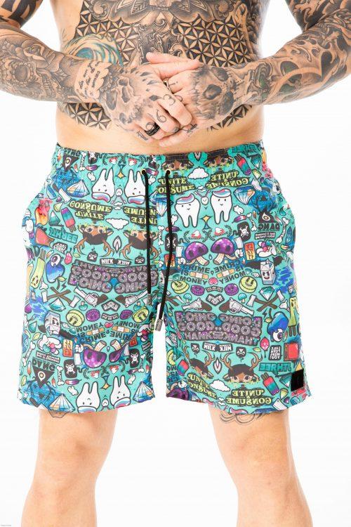 shorts de banho forinc good