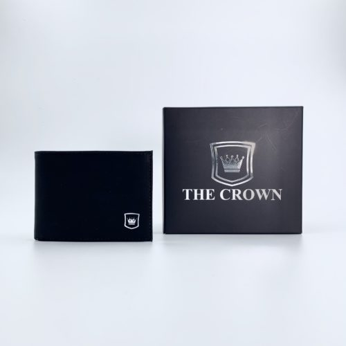 Carteira Masculina THE CROWN – Pit Stop Preto