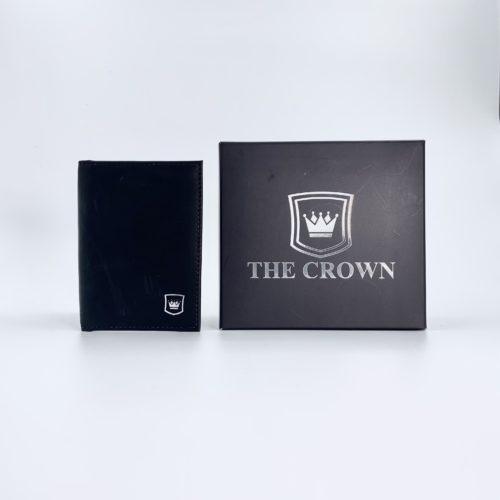 Porta Cartões Masculina THE CROWN – Pit Stop Preto