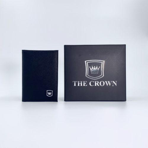 Porta Cartões Masculina THE CROWN – Napa Preto