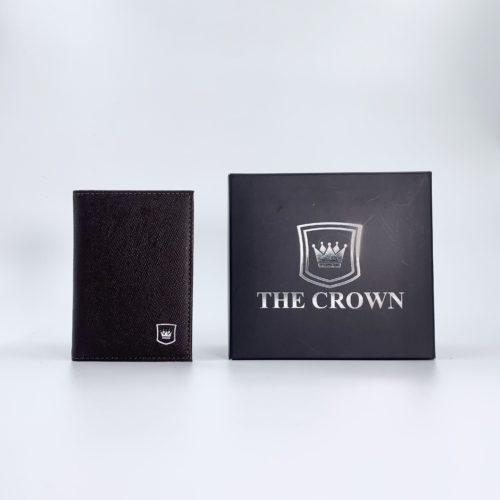 Porta Cartões Masculina THE CROWN – Napa Confort Expresso