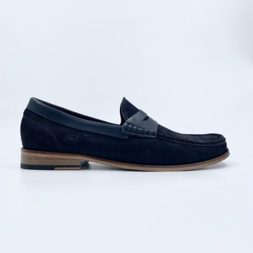 Mocassim Masculino THE CROWN – Azul