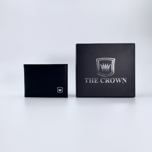 Carteira Masculina THE CROWN – Napa Confort Preto