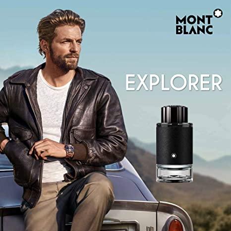 Perfume Masculino Explorer – Mont Blanc EDT 100ml