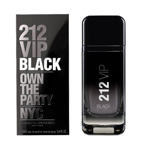 Perfume Masculino 212 Vip Black – Carolina Herrera EDT 100ml