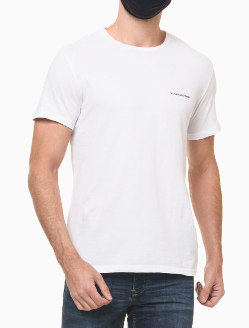 Camiseta Basica Branca – Calvin Klein Jeans