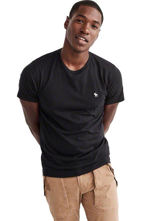 Camiseta Básica Preta – Abercrombie
