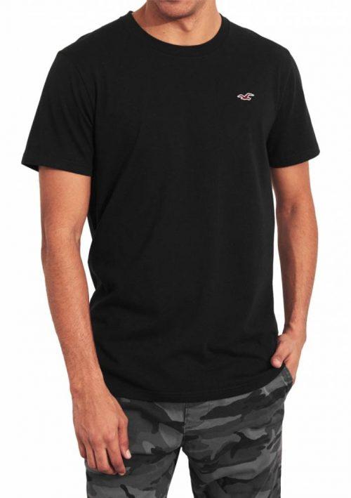 Camiseta Basica Preta – Hollister