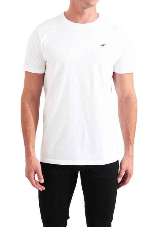 Camiseta Basica Branca – Hollister